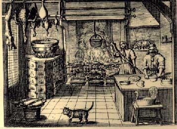 verstandige kock -volmaakte Hollandsche keukenmeid