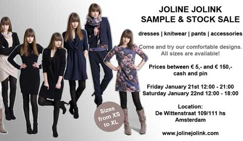 Joline Jolink-sample-sale