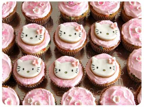 Hello Kitty-cupcake