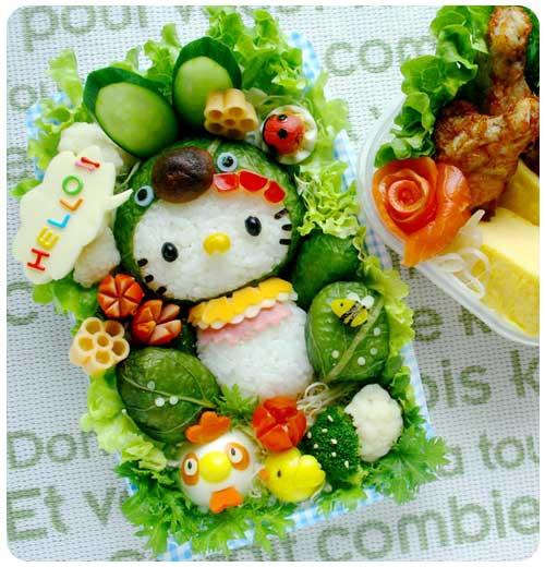 Hello Kitty-sushi