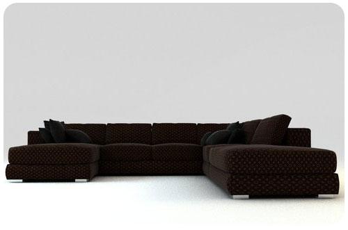 Vuitton-sofa-classic monogram