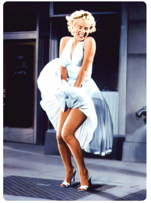 Subwaydress-Marilyn monroe