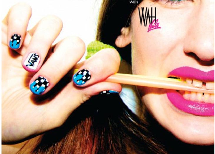 wah nails airmagazine vans Vans off the wall; WAH nails, streetart en skateboard legendes