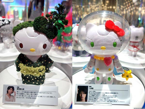 Kittyrobot Hello Kitty Tokyo 2012 japan Hello Kitty Robot tentoonstelling