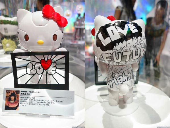 Kittyrobot Hello Kitty Tokyo 2012 love Hello Kitty Robot tentoonstelling