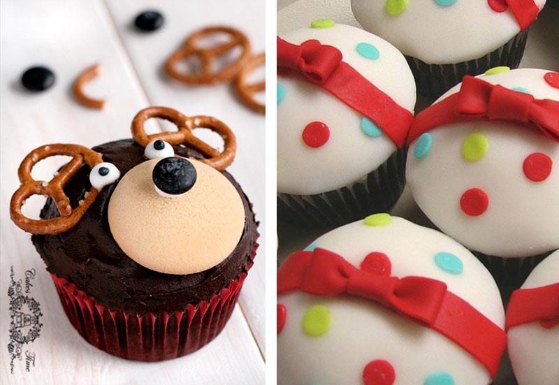 kerstmis-cupcakes
