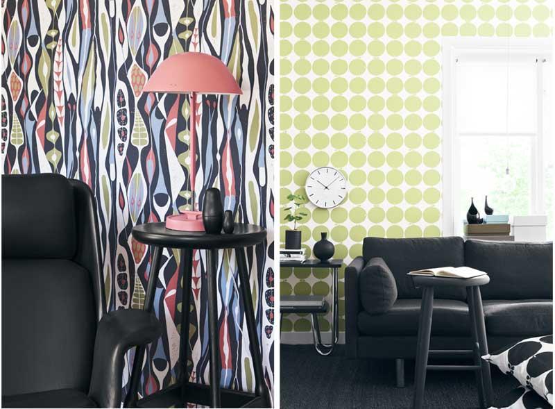 Design behang woonkamer beste inspiratie voor huis ontwerp - Moderne woonkamer behang ...