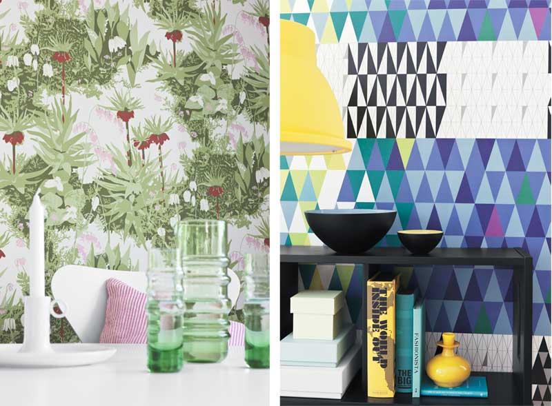 Design Behang Woonkamer : Scandinavisch design op je muur Airmagazine