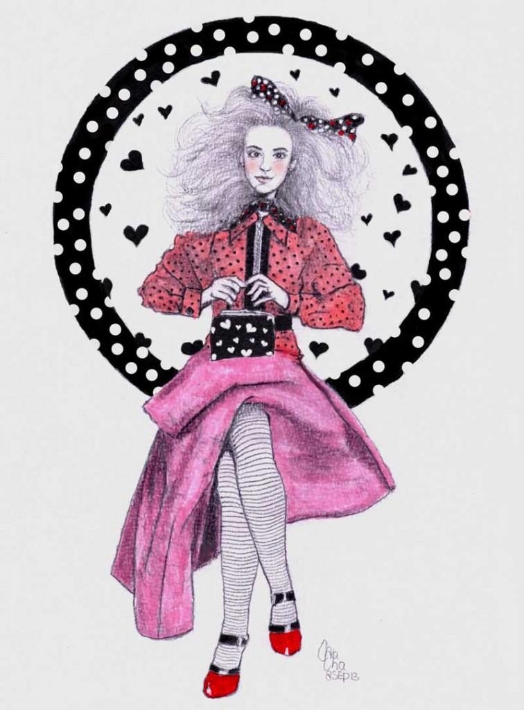 charissa-mode-illustratie