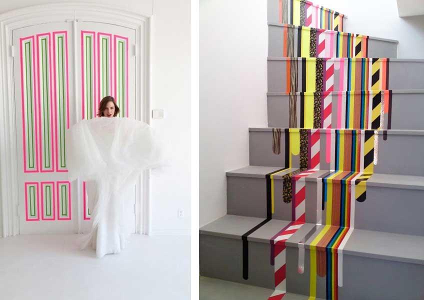 10 tips voor een sfeervolle slaapkamer zonder stof met washi tape airmagazine - Kleuridee voor een kamer ...