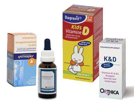 vitamine d druppels