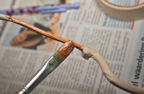 Diy Met Takken : Diy; beschilderde takken als decoratie airmagazine