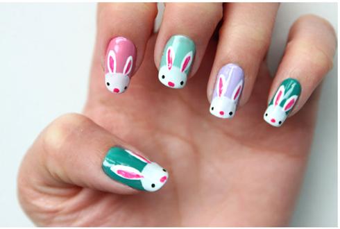01-easter-nail-art-bunnies-