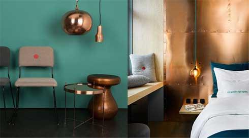 Trend kleur van 2015 koper oranje airmagazine - Kleur van de muur kamer verf ...
