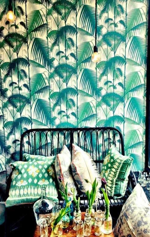 bananenblad-behang-groen-trend
