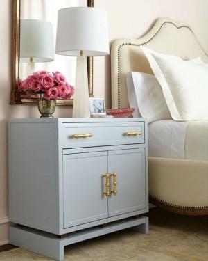 neutrale-kleur-muurverf-trendy-slaapkamer
